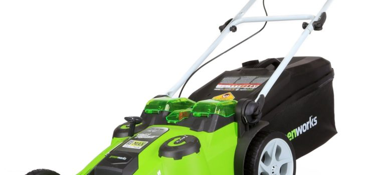 Buying an Electric Mower is Like Buying an Electric Car… for only $350